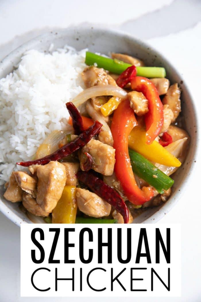 Szechuan Chicken Short Pin