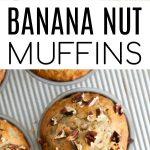 banana muffins long pin