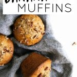 banana nut muffins short pin