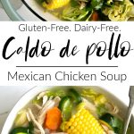 caldo de pollo long pin