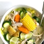caldo de pollo short pin