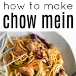 chicken chow mein long pin