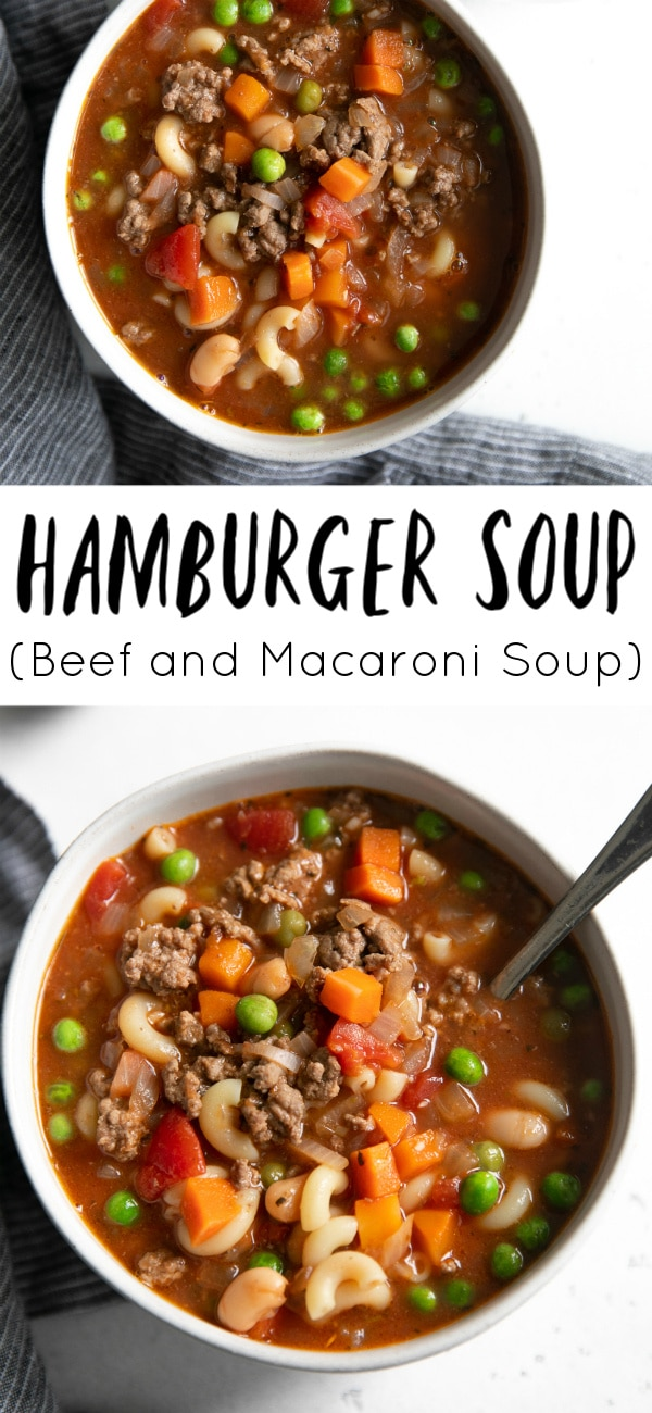 hamburger soup long pin