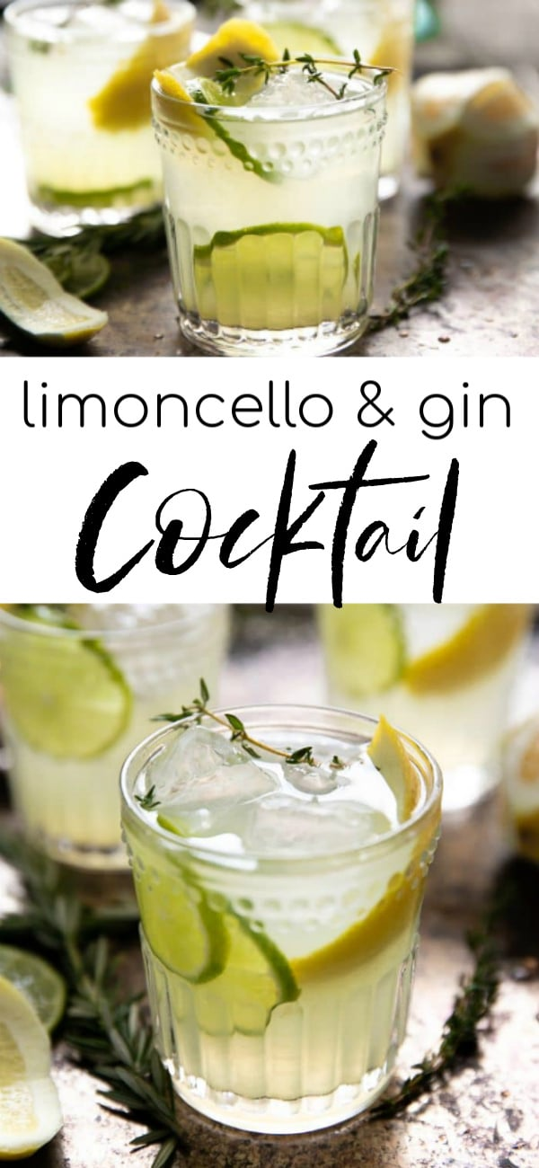 limoncello cocktail long pin