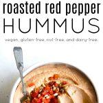 red pepper hummus long pin
