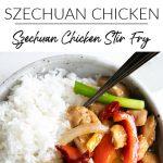 Szechuan Chicken Long Pin