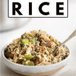 Cajun Dirty Rice pinterest image (2)