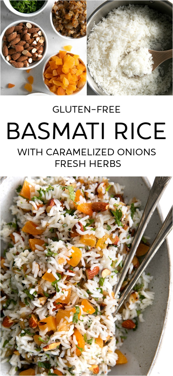 basmati rice recipe pinterest pin collage