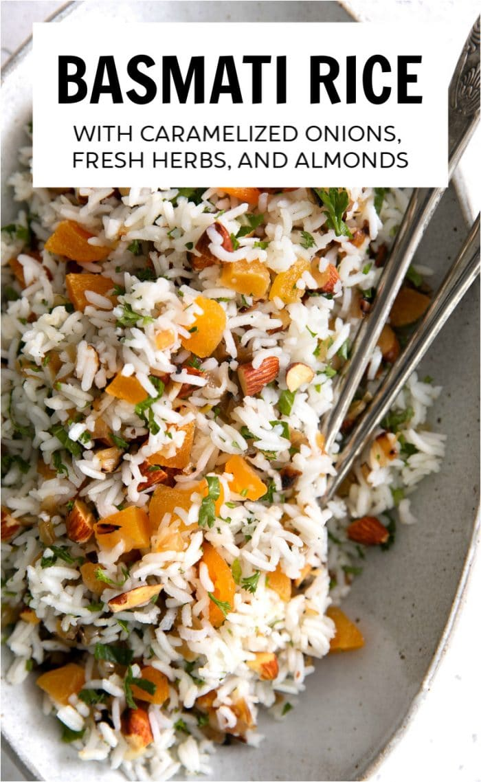 basmati rice recipe pinterest pin short