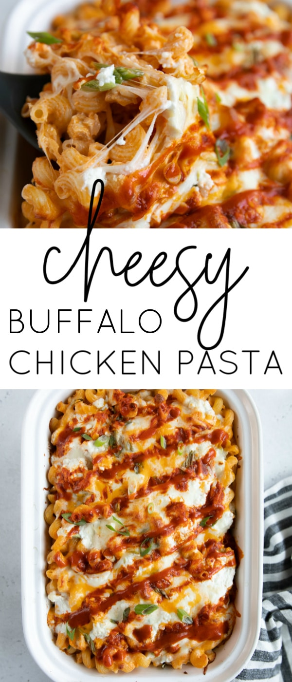 buffalo chicken pasta long pin