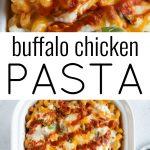 buffalo chicken pasta long pin