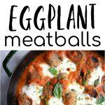 eggplant meatballs long pin