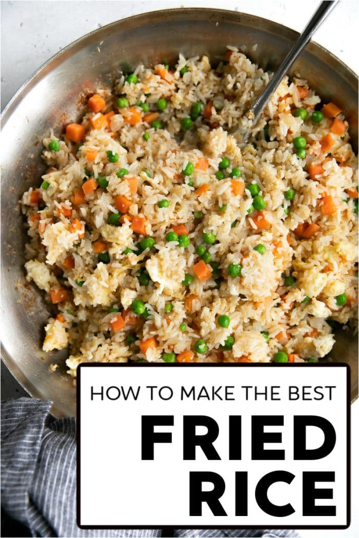 fried rice recipe pinterest pin short