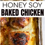 honey soy chicken thighs long pin
