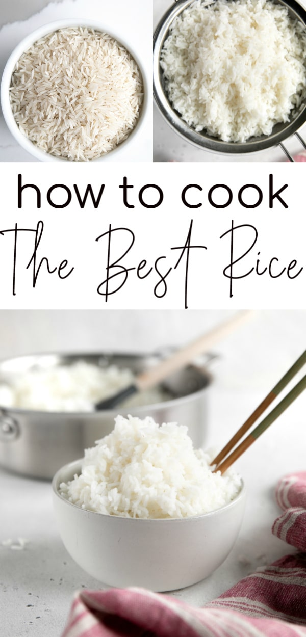 how to cook rice long pin