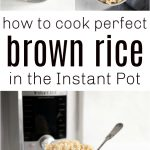 instant pot brown rice long pin