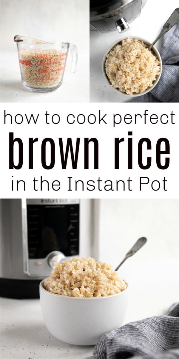 instant pot brown rice long pin