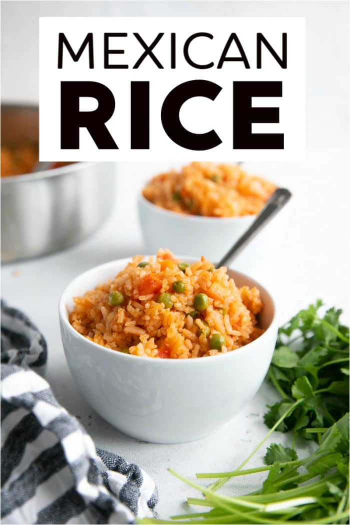 mexican rice short pinterest pin