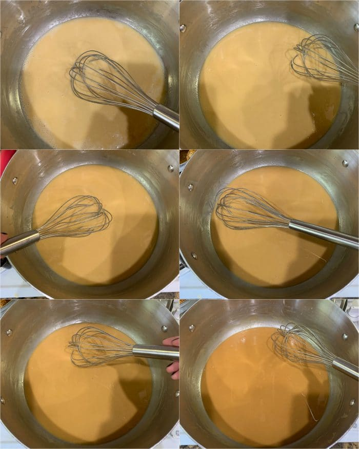 the different shades of roux- roux progression