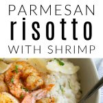 Creamy Shrimp Risotto Pinterest image