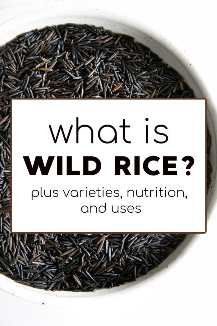 "pinterest pin for the post ""what is wild rice"""