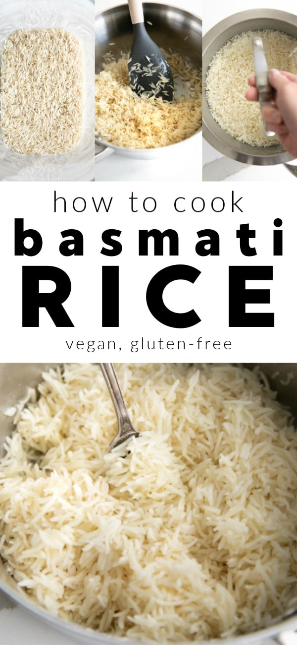 how to cook basmati rice pinterest pin