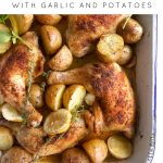 Crispy Oven Roasted Chicken Legs with Potatoes