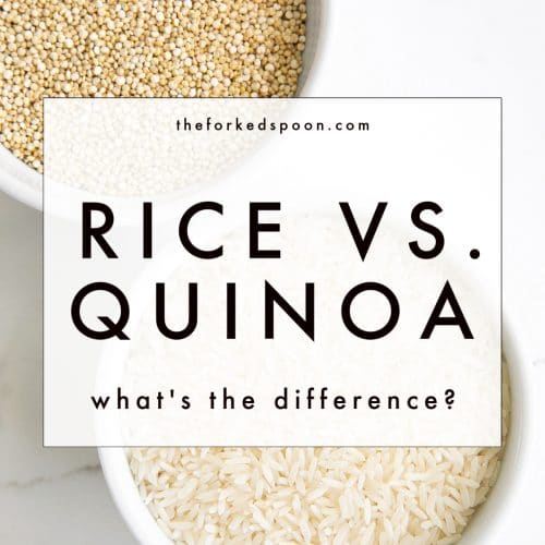 Quinoa vs. Rice: What's the Difference?