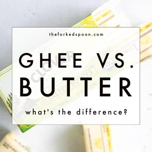 Ghee vs. Butter: What's the Difference?