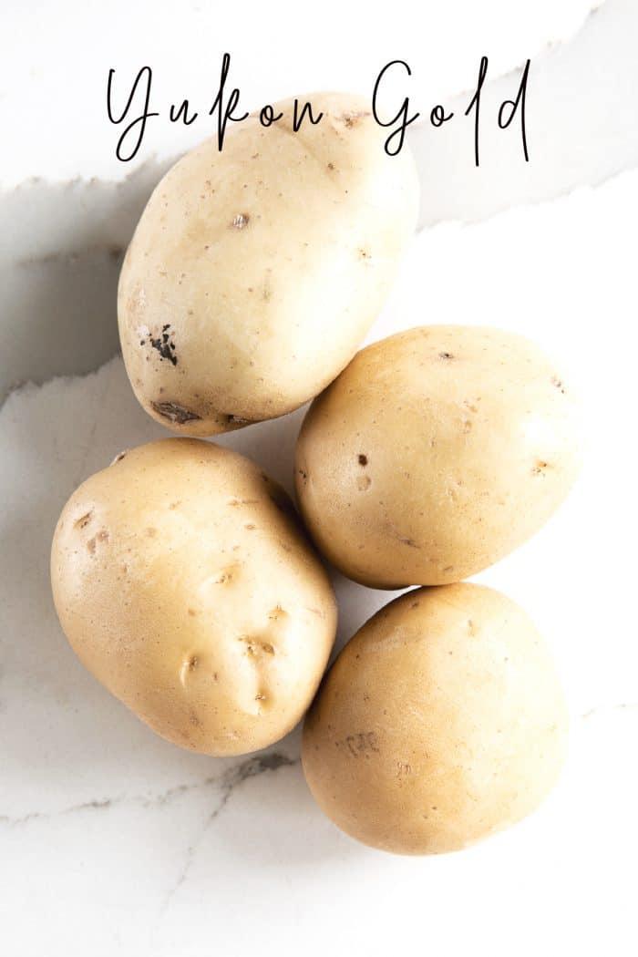 Four Yukon Gold Potatoes