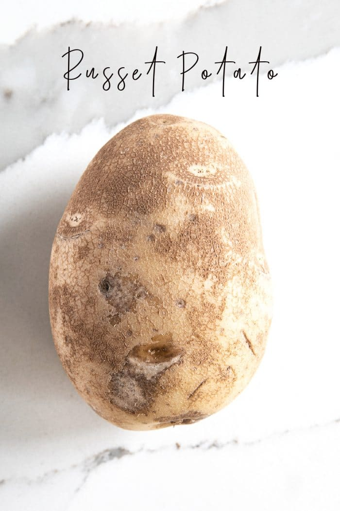 One russet potato