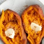 Instant Pot sweet potatoes Pinterest PIN Collage