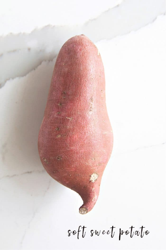 One soft sweet potato (also known as a yam)