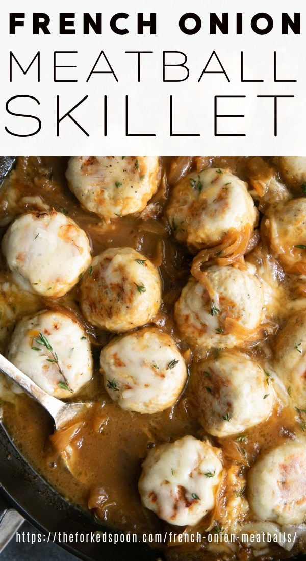 french onion meatballs pinterest pin collage image