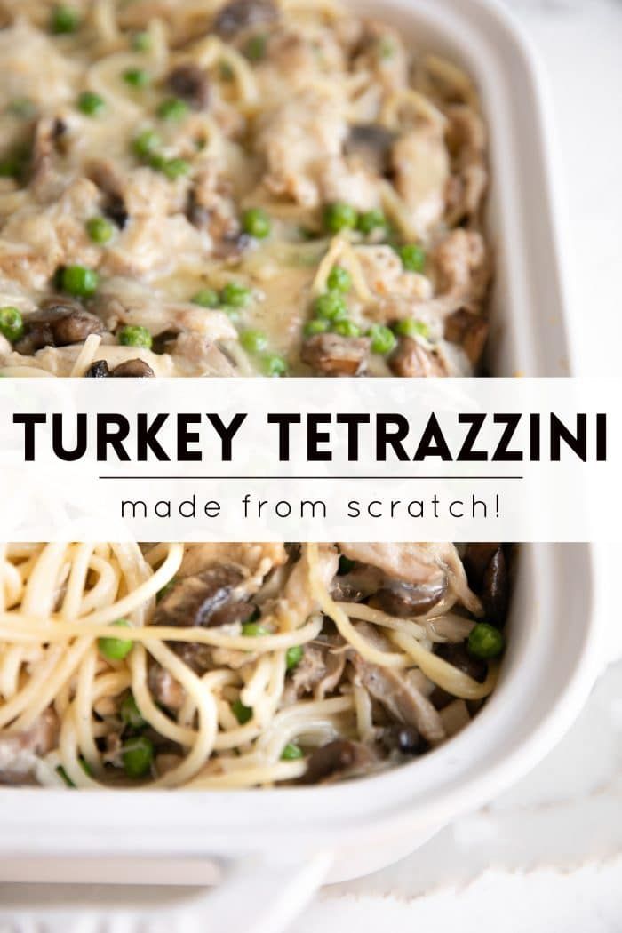 turkey tetrazzini pinterest pin image collage