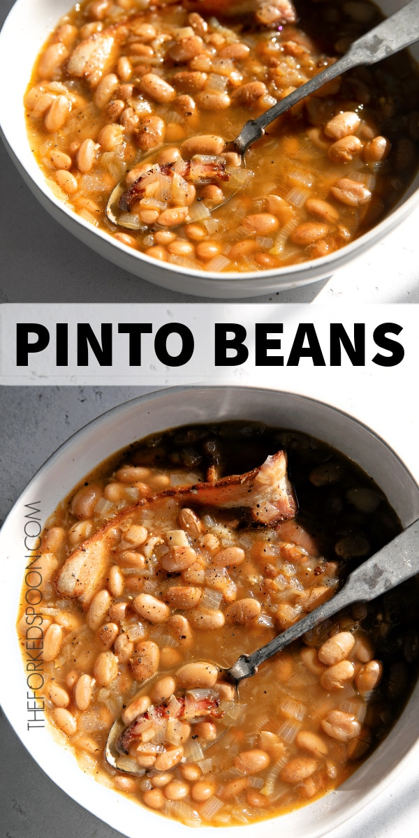 pinto beans recipe pinterest pin image